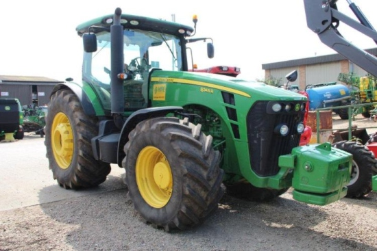 SOLD John Deere 8345R Tractor | used military vehicles, MOD surplus for sale