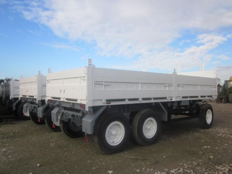 Schmitz tri axle draw bar trailer