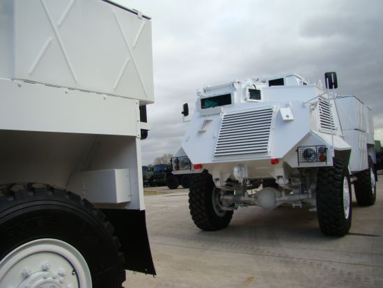 WAS SOLD Saxon Armoured Personnel Carrier  AT 105 4x4
