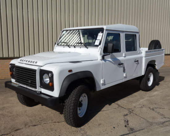Unused Land rover 130 LHD double cab hi capacity pickup  for sale