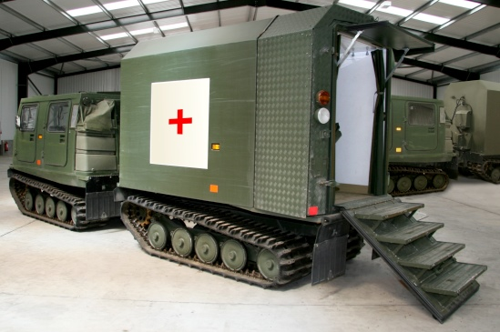 Hagglund Bv206  Ambulance/ Mobile Theatre Unit for sale | military vehicles