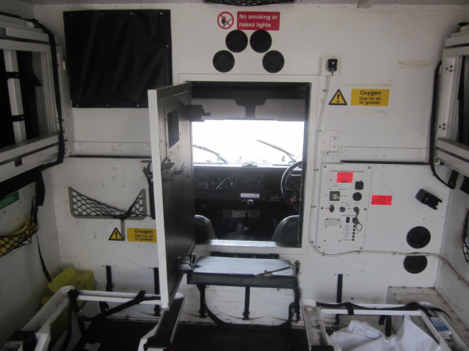Marshalls Land Rover 130 Ambulance Body for sale