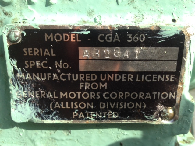 Allison Reconditioned Gearbox for FV430 series | used military vehicles, MOD surplus for sale