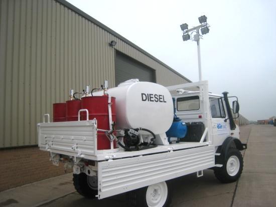 Mercedes unimog  4x4 service truck for sale