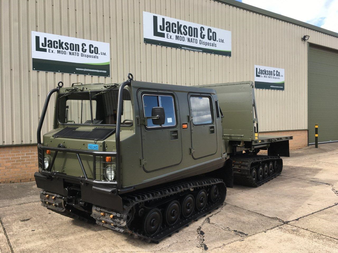 Hagglund Bv206 Load Carrier with Crane for sale | military vehicles