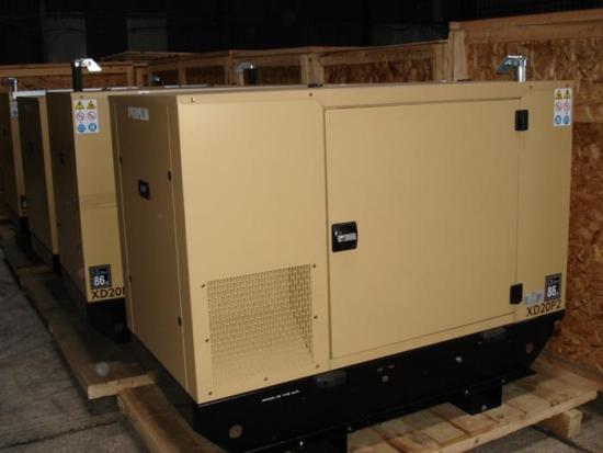 WAS SOLD Caterpillar  XD20P2 13.5 KVA  generator set