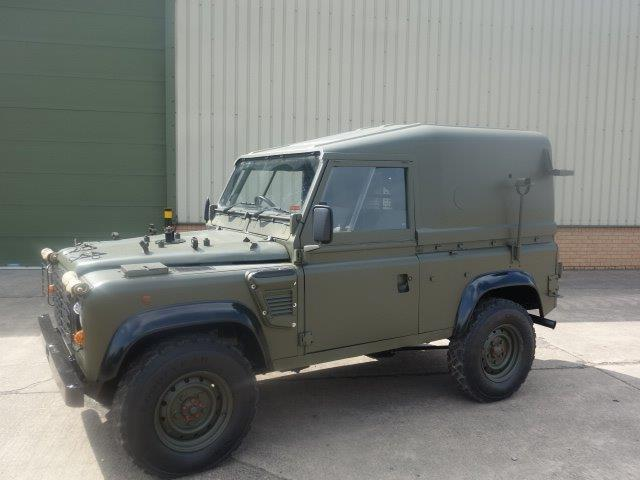 Land Rover Defender 90 Wolf Hard Top (Remus  for sale . The UK MOD Direct Sales