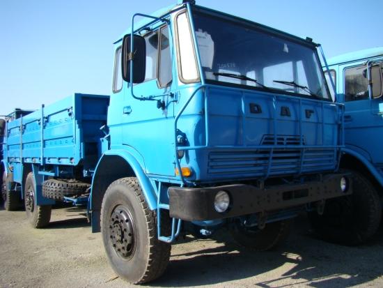 DAF YA4440 4x4 Crane Truck LHD with Atlas Crane