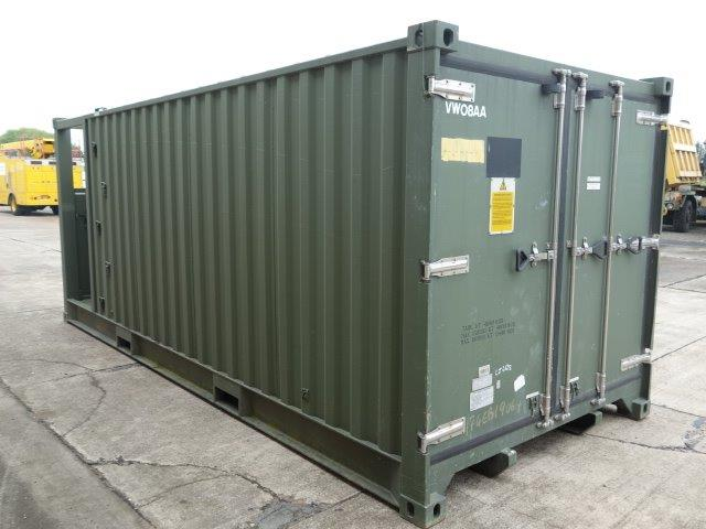 20ft DROPS Refrigerated Container | used military vehicles, MOD surplus for sale