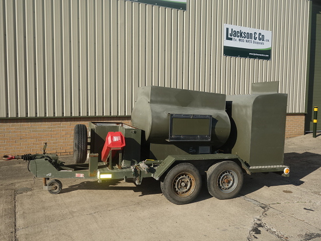 Ex Military Fluid Transfer 1000 Litre Tanker Trailer | Ex military vehicles for sale, Mod Sales, M.A.N military trucks 4x4, 6x6, 8x8
