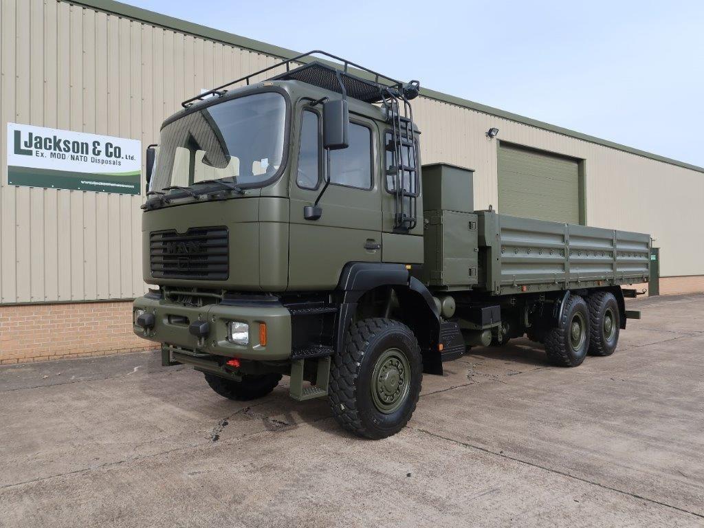WAS SOLD MAN 27.314 6x6 LHD Cargo Truck