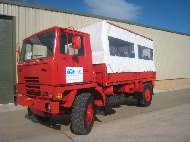 Bedford TM 4x4 canopy personnel carrier truck for sale | military vehicles