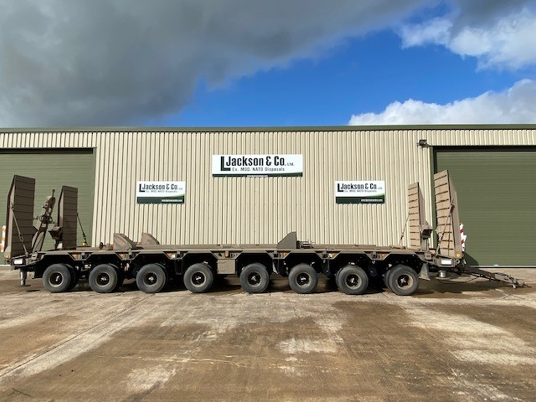 Goldhofer 8 Axle Low Loader Trailers  for sale