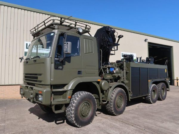 Iveco 410E42 8x8 recovery truck
