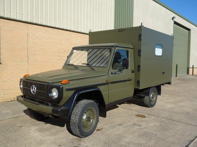 Mercedes GD250 G Wagon 4x4 Box Vehicle for sale, Mod Sales Ex | military vehicles