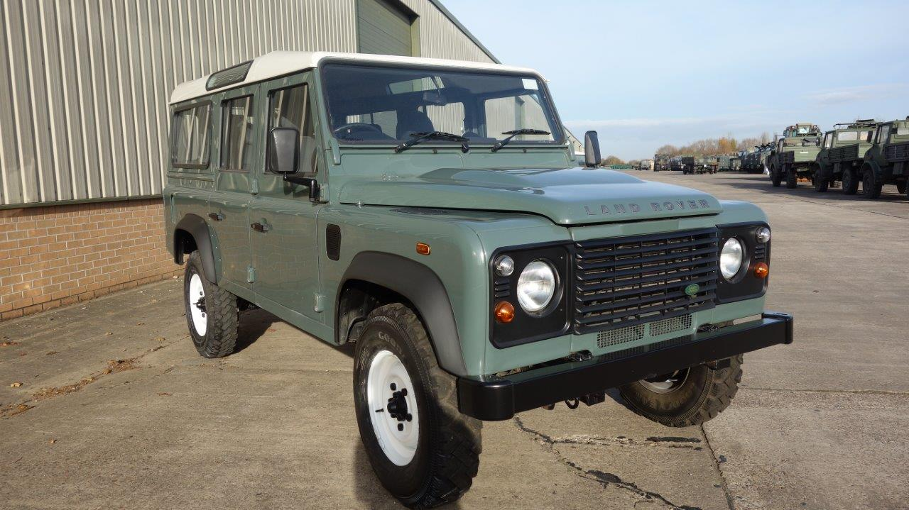 Land Rover Defender 110  Station Wagons RHD | used military vehicles for sale