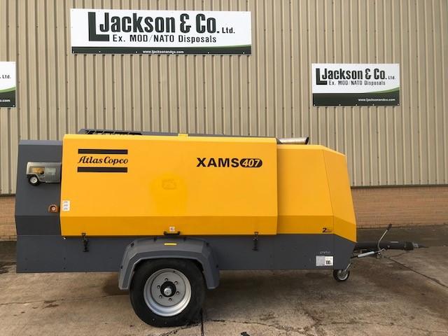 Atlas Copco XAMS 407 848 CFM Compressor - Unused | used military vehicles, MOD surplus for sale