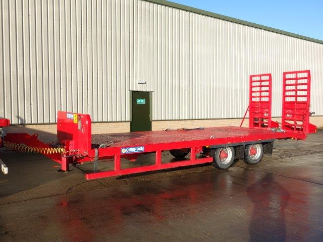 Chieftain Plant Trailer  for sale . The UK MOD Direct Sales