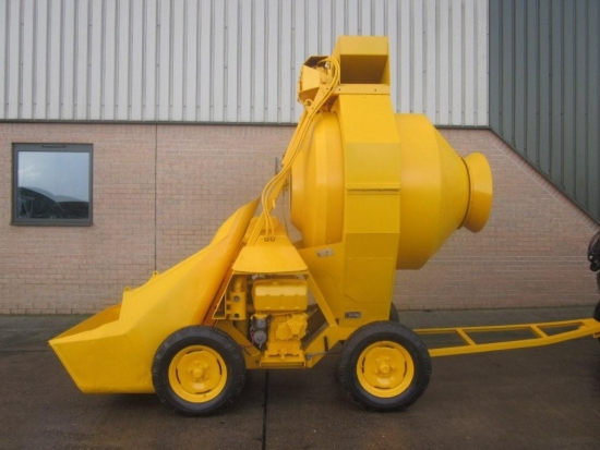 SOLD Winget 400R concrete mixer | used military vehicles, MOD surplus for sale