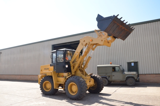 SOLD Ahlmann AS12 B loading shovel | used military vehicles, MOD surplus for sale