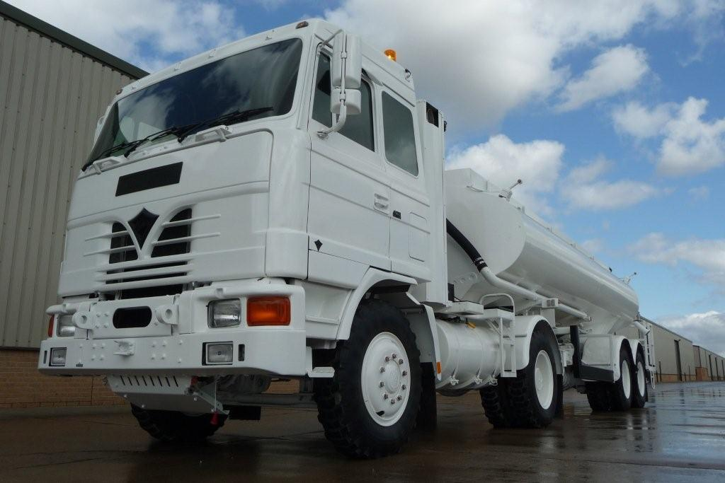 Foden 4380 MWAD 8x6 Watering Dust Suppression  Truck with Spray Bar for sale | military vehicles