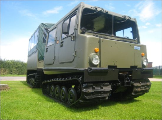 Hagglunds BV206 Shoot Vehicle | used military vehicles for sale