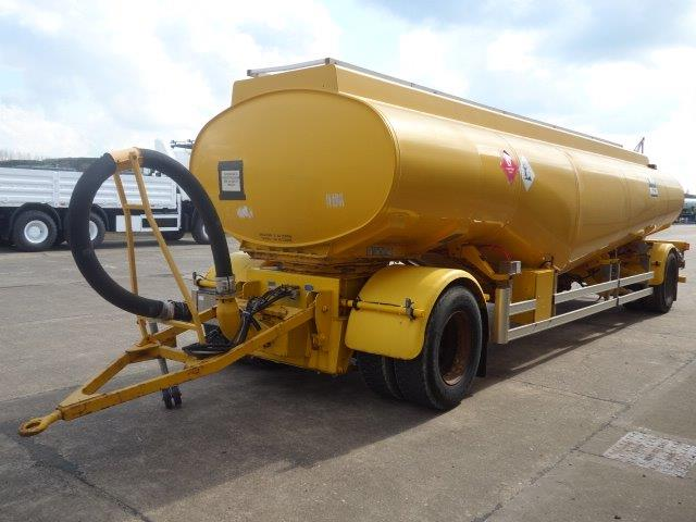24,000 Litre Fluid  tanker trailer | used military vehicles for sale