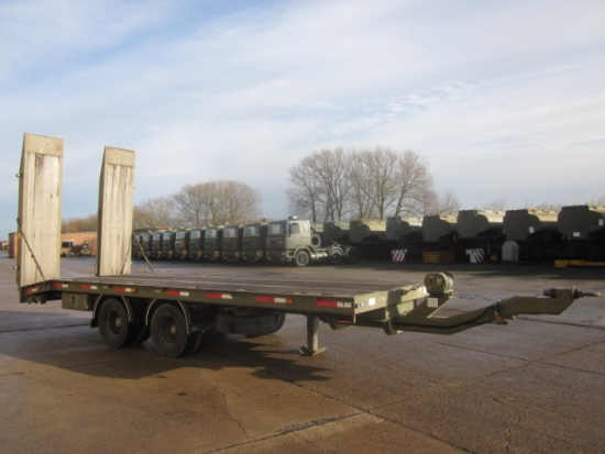 King draw bar plant ex.military trailer. for sale | military vehicles