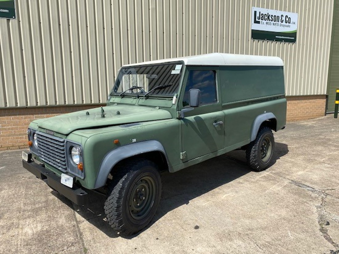 WAS SOLD Land Rover Defender 110 300Tdi hard top