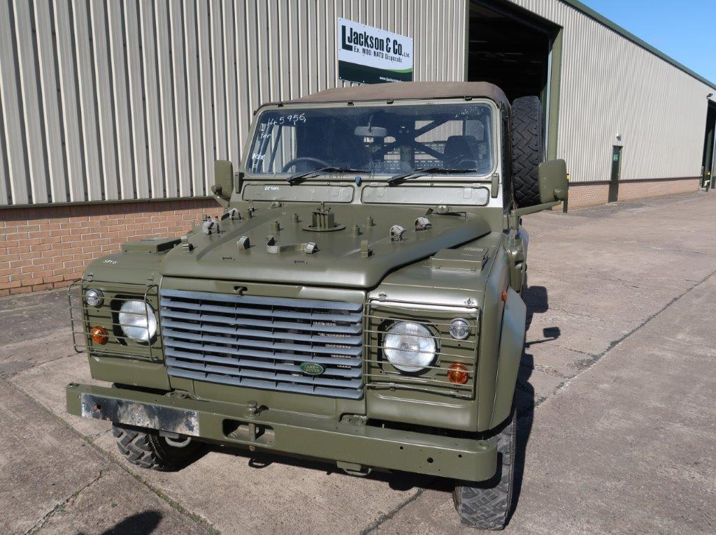 Rare Land Rover Defender 90 Wolf Airportable variant RHD for sale | military vehicles