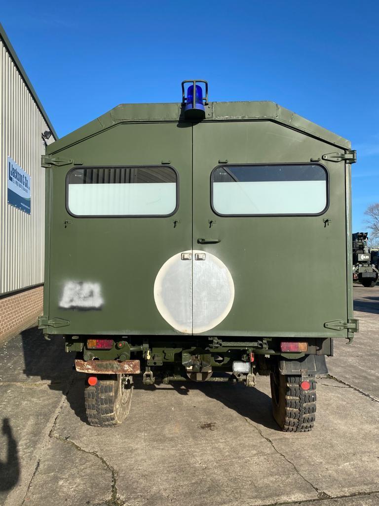 Mercedes Unimog U1300L 4x4 Ambulance (camper van) | used military vehicles, MOD surplus for sale