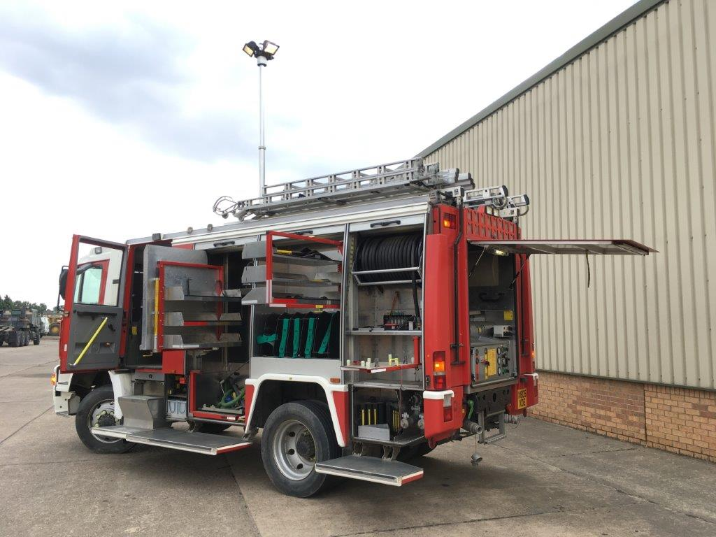 M.A.N RESCUE PUMP 14.284 4x4 | used military vehicles, MOD surplus for sale