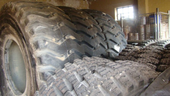 Used 8.25R16 Tyres | used military vehicles, MOD surplus for sale