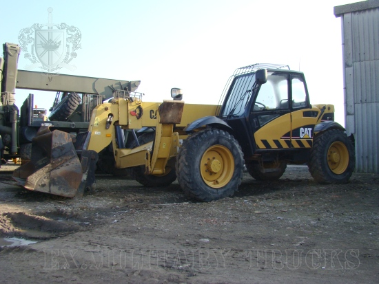 WAS SOLD Caterpillar TH 360 B teleporter