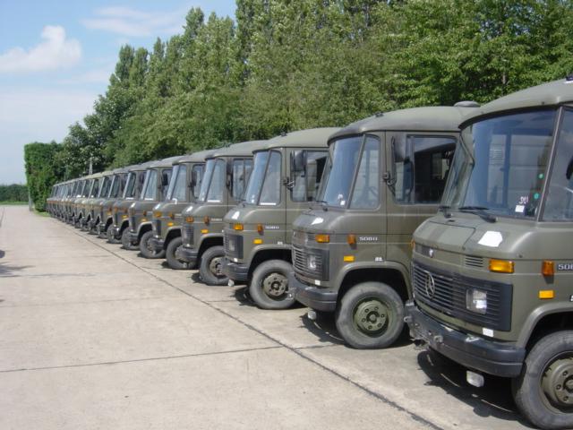 WAS SOLD Mercedes 508D cargo van