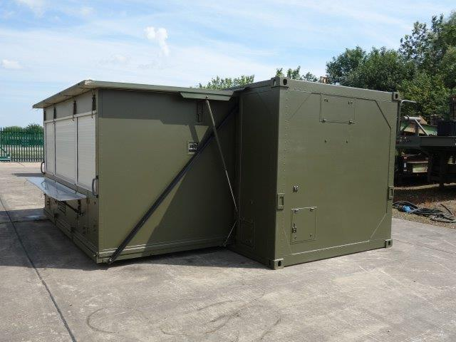 Karcher Expandable 20ft Kitchen Container |  EX.MOD direct sales
