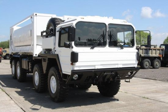 MAN Cat A1 15t 8x8 with Twistlocks  for sale. The UK MOD Direct Sales