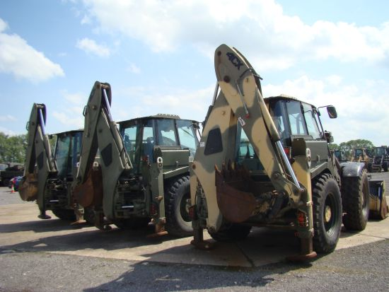 JCB 4CX Military Back hoe loader | used military vehicles, MOD surplus for sale