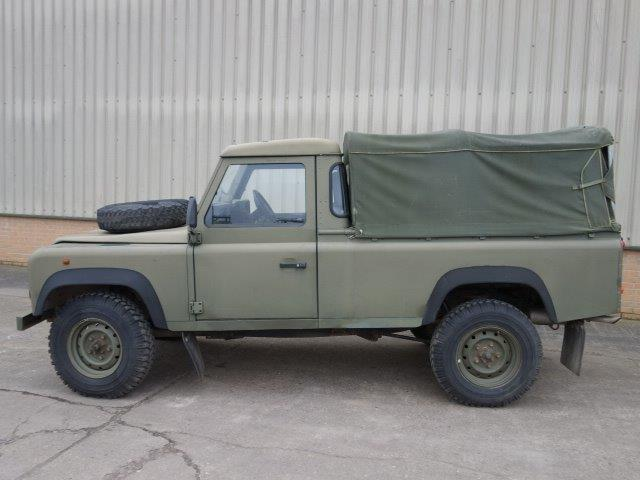 Land Rover Defender 110 300TDi Pickup  for sale. The UK MOD Direct Sales