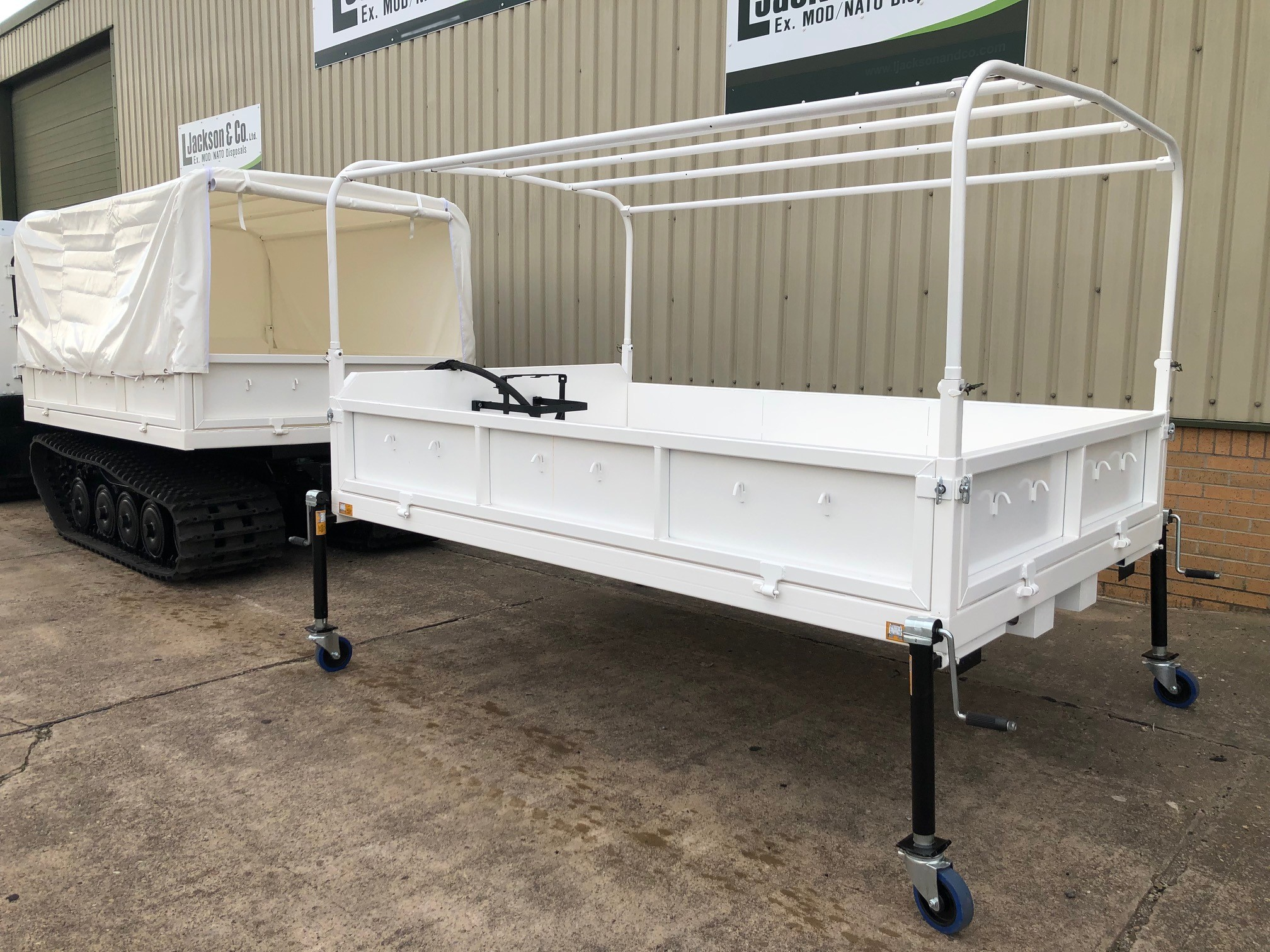 Hagglunds BV 206 Soft Top With Twist Locks  military for sale