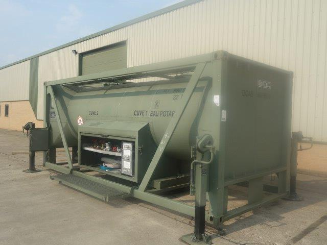 20FT ISO Potable Water Tank Containers for sale