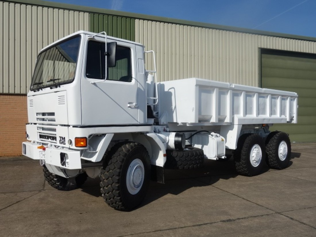 Bedford TM 6x6 Tipper Truck | used military vehicles, MOD surplus for sale