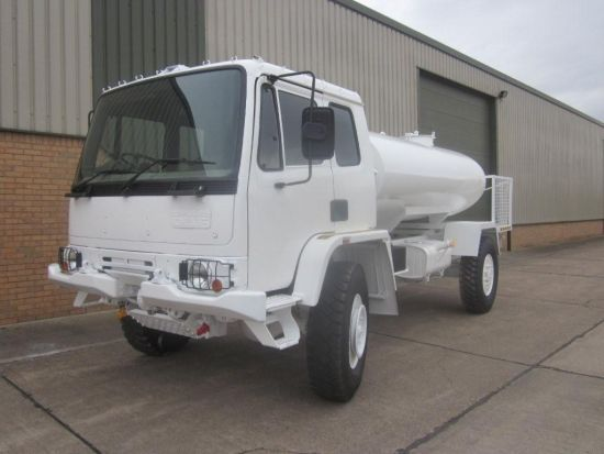 Leyland DAF 45.150 4x4 RHD tanker truck | used military vehicles, MOD surplus for sale
