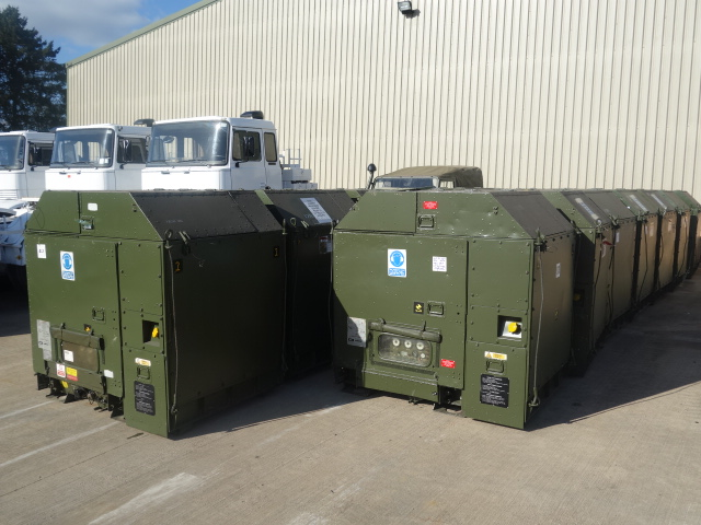 Hunting 25 kva diesel generator  for sale . The UK MOD Direct Sales