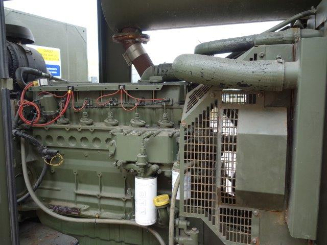 Hunting 150 KVA Trailer Mounted Generator | used military vehicles, MOD surplus for sale