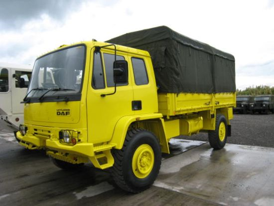 Leyland DAF 45.150  4x4 Drop Side Cargo Truck for sale | military vehicles
