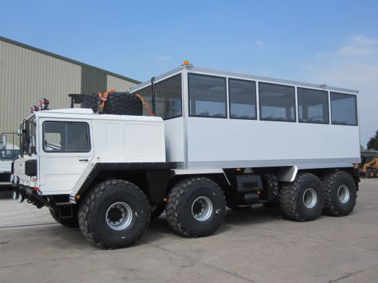 MAN 8x8 off-road Personnel Carrier / Tour or Safari Vehicle  for sale . The UK MOD Direct Sales