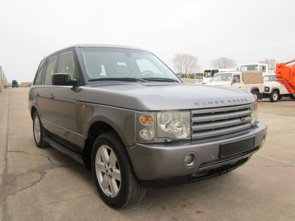Armoured Range Rover vogue LHD V8 metallic grey  military for sale