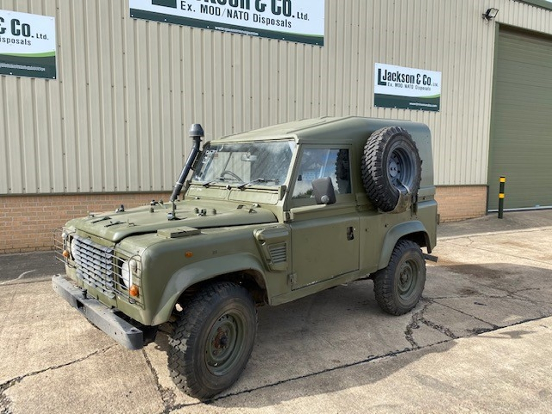 Land Rover Defender 90 Wolf RHD Hard Top (Remus) for sale | military vehicles