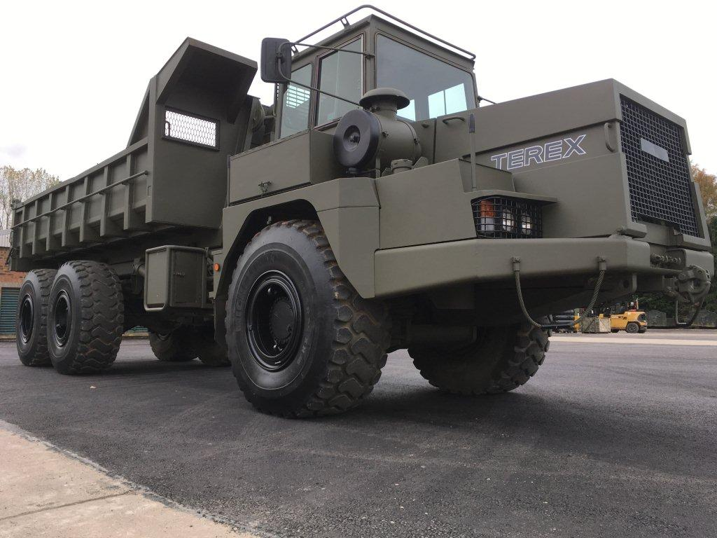 Terex 3066 (TA25 Army) Articulated Dumper 6x6 & Multilift system for sale | military vehicles
